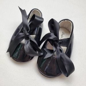 Ralph Lauren Layette Briley Patent Leather Shoes